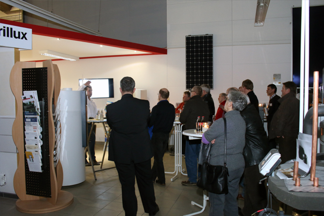 Fliesen Heidrich GmbH feiert Nacht der 1000 Lichter